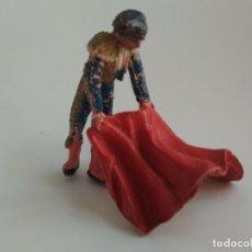 Figuras de Goma y PVC: FIGURA TORERO AÑOS 60. Lote 166391458