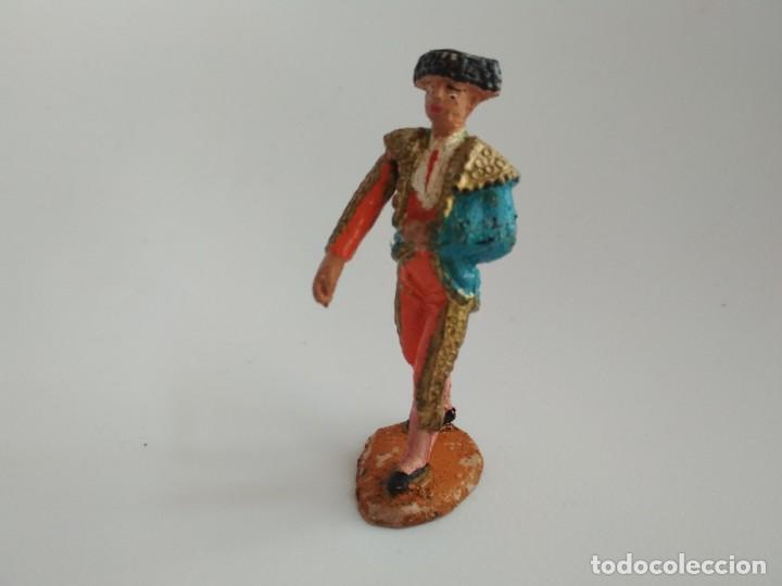 FIGURA TORERO TEIXIDO GOMA (Juguetes - Figuras de Goma y Pvc - Teixido)