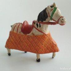Figuras de Goma y PVC: FIGURA CABALLO PICADOR GOMA TEIXIDO. Lote 166391846