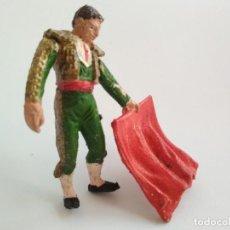 Figuras de Goma y PVC: FIGURA TORERO AÑOS 60. Lote 166391982