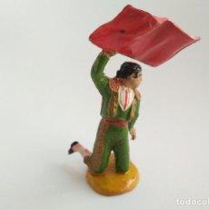 Figuras de Goma y PVC: FIGURA TORERO AÑOS 60. Lote 166392130