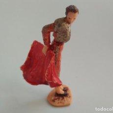 Figuras de Goma y PVC: FIGURA RARO TORERO AÑOS 60 JECSAN. Lote 166401030