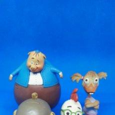 Figure di Gomma e PVC: FAMILIA COMPLETA PVC CHICKEN LITTLE DISNEY BULLY. Lote 166521985