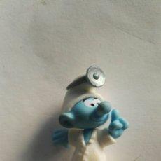 Figuras de Goma y PVC: PITUFO MEDICO. Lote 166534589