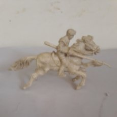 Figuras de Goma y PVC: FIGURA MEDIEVALA CABALLO PROMOCION AJAX. Lote 166537260