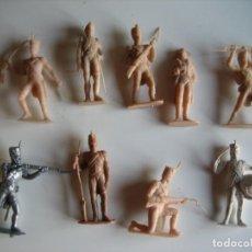 Figuras de Goma y PVC: FIGURAS JECSAN, COMANSI, PECH, LAFREDO, REAMSA, BRITAINS TOY SOLDIERS.. Lote 175463899