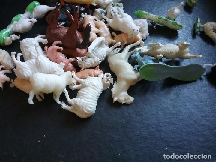 Figuras de Goma y PVC: LOTE BRITAINS ANIMALES GRANJA DIORAMA CERDO VACA CORDERO GALLO PERRO OCA POLLO PAVO CABALLO. PTOY - Foto 8 - 79309569