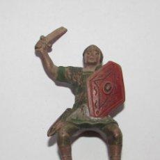 Figuras de Goma y PVC: LEGIONARIO ROMANO A CABALLO FIGURA REAMSA Nº158 AÑOS 60. Lote 166564014