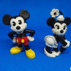 Figuras de Goma y PVC: FIGURAS PVC MICKEY Y MINNIE BULLY. Lote 166601409