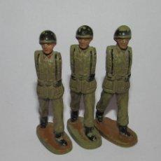 Figuras de Goma y PVC: ANTIGUOS SOLDADOS TEIXIDO BRAZOS MOVILES AÑOS 60 ORIGINAL. Lote 166611590