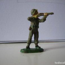 Figuras de Goma y PVC: FIGURAS JECSAN, COMANSI, PECH, LAFREDO, REAMSA, BRITAINS TOY SOLDIERS.. Lote 166634882