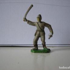 Figuras de Goma y PVC: FIGURAS JECSAN, COMANSI, PECH, LAFREDO, REAMSA, BRITAINS TOY SOLDIERS.. Lote 166635214