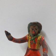 Figuras de Goma y PVC: VAQUERO . REALIZADO POR AL - CA . CAPELL . AÑOS 50. Lote 166698226