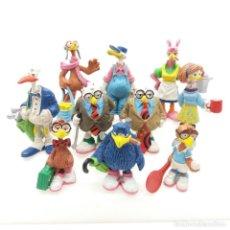 Figuras de Goma y PVC: GRAN LOTE DE FIGURAS DE JEFF MACNELLY DE COMICS SPAIN 1986. Lote 166734374
