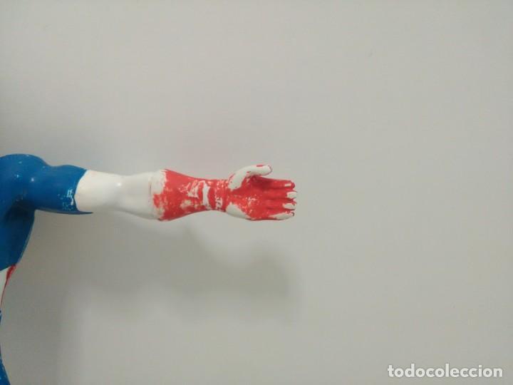 Figuras de Goma y PVC: Figura flexible del Capitán América © 92 MARVEL, COMICS SPAIN - Foto 4 - 166772050