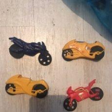 Figuras de Goma y PVC: ANTIGUAS MOTOS DANONE. Lote 166814425