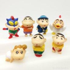 Figuras de Goma y PVC: LOTE 7 FIGURAS SHIN CHAN FABRICADAS POR FSA CHINA. Lote 166828302