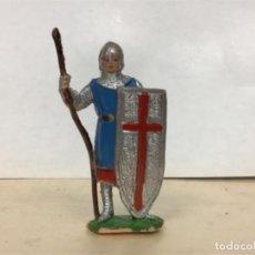 Figuras de Goma y PVC: FIGURA MEDIEVAL JECSAN MIO CID CRUZADOS BEN YUSUF . Lote 166853842