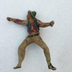 Figuras de Goma y PVC: ANTIGUO VAQUERO GOMA, JECSAN, PECH, REAMSA. Lote 166947008