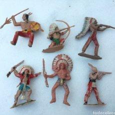 Figuras de Goma y PVC: LOTE INDIOS JECSAN, REAMSA, PECH, GOMARSA. Lote 166947792