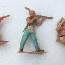 Figuras de Goma y PVC: INDIOS REAMSA, PECH, JECSAN , GOMA. Lote 166948365