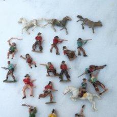 Figuras de Goma y PVC: LOTE VAQUEROS REAMSA, JECSAN,GOMARSA. Lote 166949016