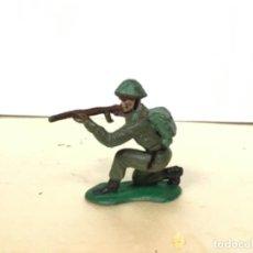 Figuras de Goma y PVC: FIGURA MILITAR CRESCENT SOLDADO AMERICANO SEGUNDA GUERRA MUNDIAL NO JECSAN REAMSA PECH COMANSI. Lote 166967360