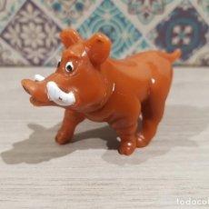 Figuras de Goma y PVC: FIGURA PVC O GOMA DURA JABALI REY LEON YOLANDA COMANSI. Lote 166977788