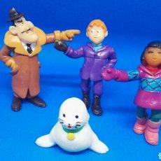 Figuras de Goma y PVC: FAMILIA COMPLETA PVC SEABERT YOLANDA. Lote 167060469
