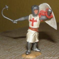 Figuras de Goma y PVC: TIMPO TOYS - FIGURA CRUZADOS MEDIAVALES. Lote 167061792