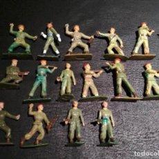 Figuras de Borracha e PVC: PARACAIDISTAS - STARLUX. Lote 167063136