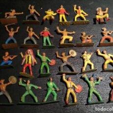 Figuras de Goma y PVC: INDIOS - STARLUX. Lote 167063428