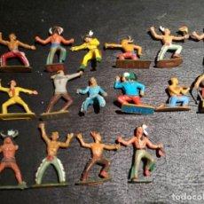 Figuras de Goma y PVC: INDIOS - STARLUX. Lote 167063472