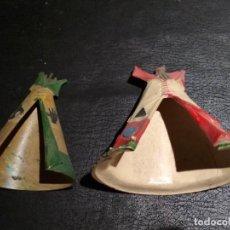 Figuras de Goma y PVC: INDIOS - STARLUX. Lote 167063532