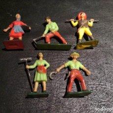 Figuras de Goma y PVC: CAMPESINOS - STARLUX. Lote 167063568