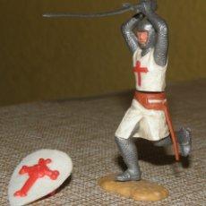 Figuras de Goma y PVC: TIMPO TOYS - FIGURA CRUZADOS MEDIAVALES. Lote 167065008