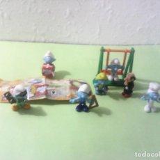 Figuras de Goma y PVC: PITUFO SMURF LOTE. Lote 167100504