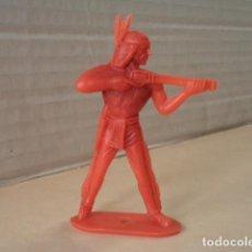 Figuras de Goma y PVC: FIGURA DE PLÁSTICO INDIO COMANSI. Lote 167147776