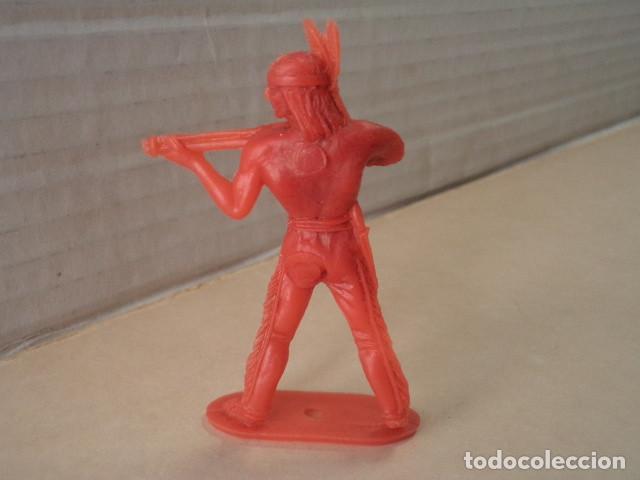 Figuras de Goma y PVC: FIGURA DE PLÁSTICO INDIO COMANSI - Foto 2 - 167147776