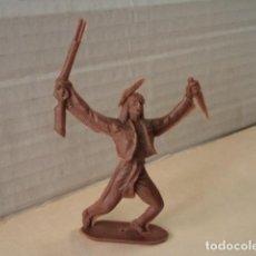 Figuras de Goma y PVC: FIGURA DE PLÁSTICO INDIO COMANSI. Lote 167147908
