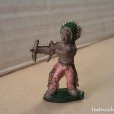 Figuras de Goma y PVC: FIGURA DE GOMA INDIO ALCALÁ-CAPELL. Lote 167149632