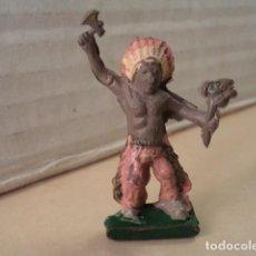 Figuras de Goma y PVC: FIGURA DE GOMA INDIO ALCALÁ-CAPELL. Lote 167149888