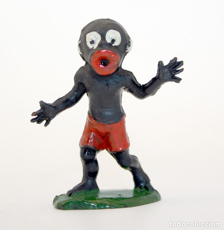 FIGURA BABALI - TEIXIDO - TBO - EUSTAQUIO MORCILLON Y BABALI - 1958 - MUY BIEN CONSERVADA - EN GOMA (Juguetes - Figuras de Goma y Pvc - Teixido)