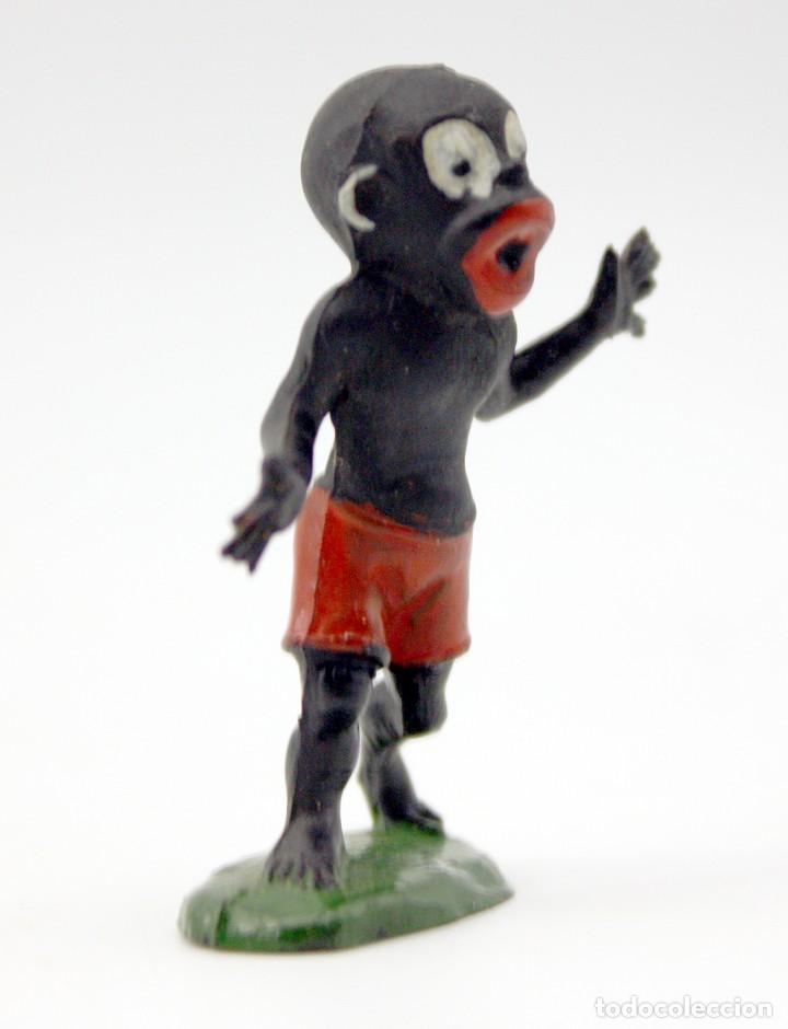Figuras de Goma y PVC: FIGURA BABALI - TEIXIDO - TBO - EUSTAQUIO MORCILLON Y BABALI - 1958 - MUY BIEN CONSERVADA - EN GOMA - Foto 6 - 167180928