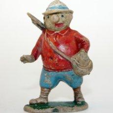 Figuras de Goma y PVC: FIGURA EUSTAQUIO MORCILLON - TEIXIDO - TBO - EUSTAQUIO MORCILLON Y BABALI - 1958 - EN GOMA. Lote 167181116
