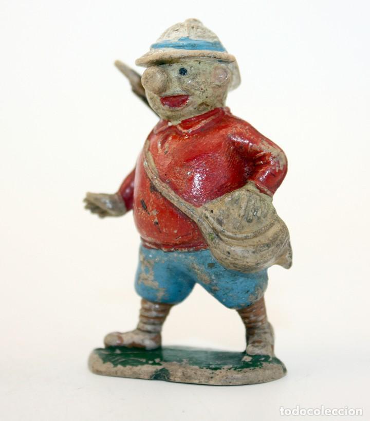 Figuras de Goma y PVC: FIGURA EUSTAQUIO MORCILLON - TEIXIDO - TBO - EUSTAQUIO MORCILLON Y BABALI - 1958 - EN GOMA - Foto 2 - 167181116