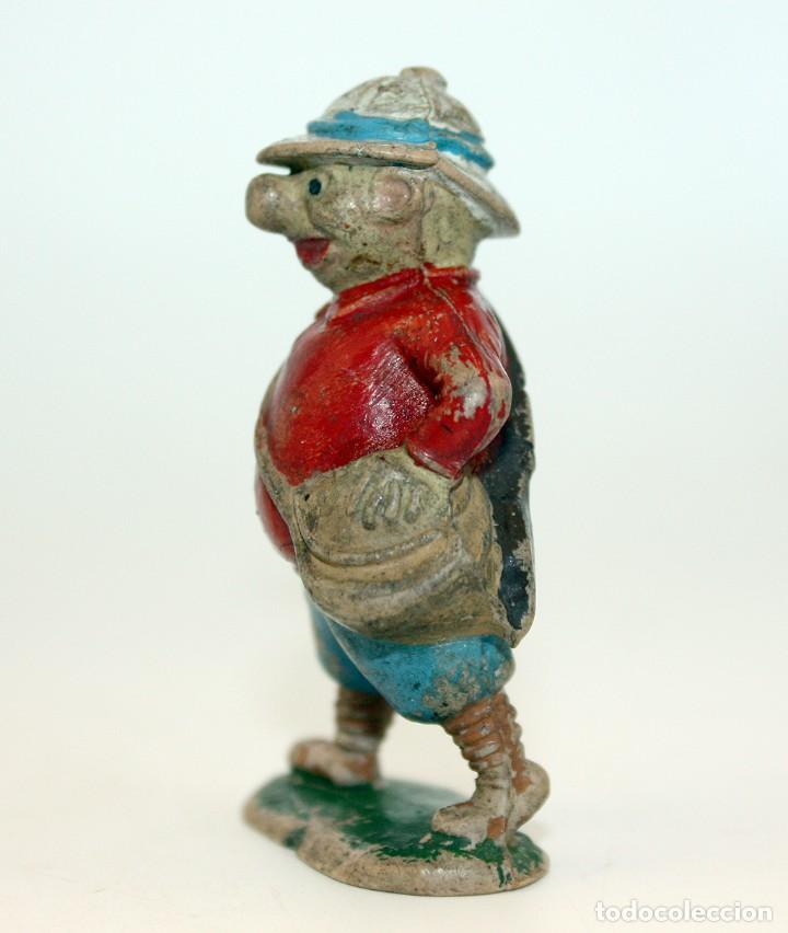 Figuras de Goma y PVC: FIGURA EUSTAQUIO MORCILLON - TEIXIDO - TBO - EUSTAQUIO MORCILLON Y BABALI - 1958 - EN GOMA - Foto 3 - 167181116
