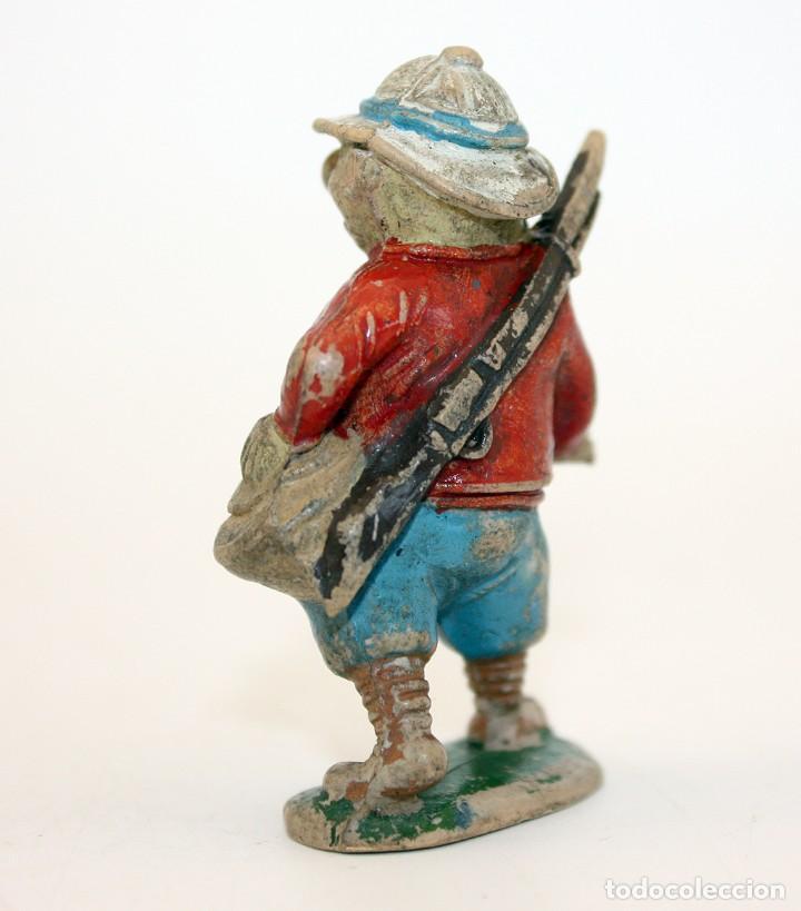 Figuras de Goma y PVC: FIGURA EUSTAQUIO MORCILLON - TEIXIDO - TBO - EUSTAQUIO MORCILLON Y BABALI - 1958 - EN GOMA - Foto 4 - 167181116