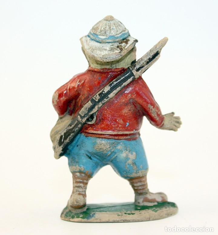 Figuras de Goma y PVC: FIGURA EUSTAQUIO MORCILLON - TEIXIDO - TBO - EUSTAQUIO MORCILLON Y BABALI - 1958 - EN GOMA - Foto 5 - 167181116