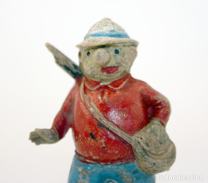 Figuras de Goma y PVC: FIGURA EUSTAQUIO MORCILLON - TEIXIDO - TBO - EUSTAQUIO MORCILLON Y BABALI - 1958 - EN GOMA - Foto 8 - 167181116